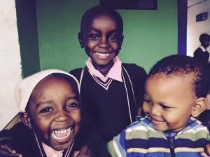 Glory, Serafina and Angel - three Save Africa lovebugs.
