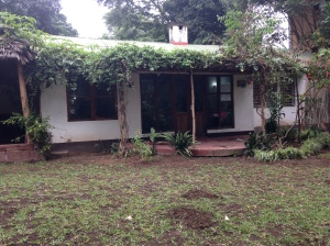 The volunteer house where I stayed in Arusha.